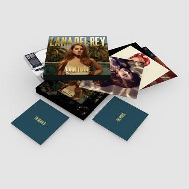 Lana Del Rey Born To Die The Paradise Edition Ltd 3 Cd Dvd 7 Box Set