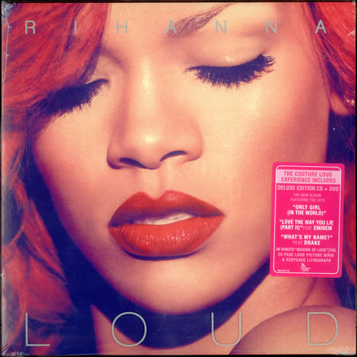 Rihanna Loud Deluxe Couture Edition Cd Dvd