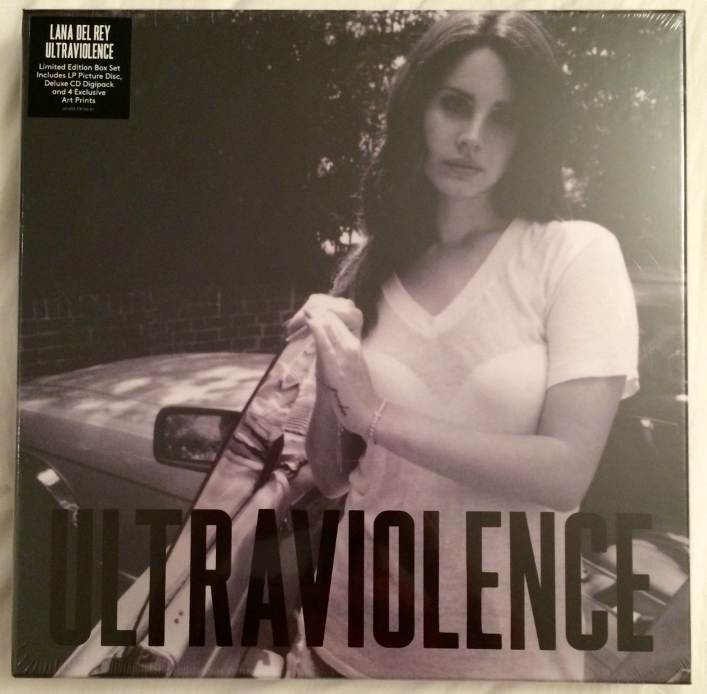 Lana Del Rey Ultraviolence Super Deluxe Edition 2 Cd 2 Picture Disc Lp Box Set